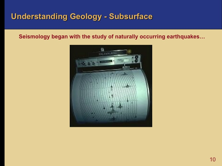 Oil and Gas Exploration - Subsurface Geology