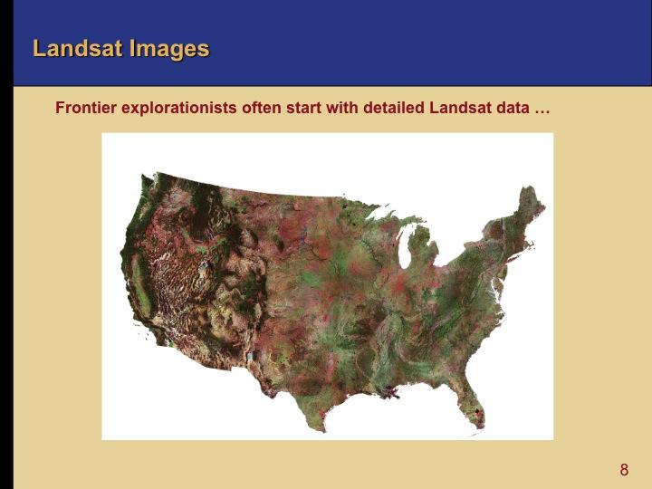 Oil and Gas Exploration - Landsat