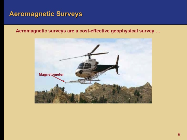 Oil and Gas Exploration - Aeromagnetic Surveys