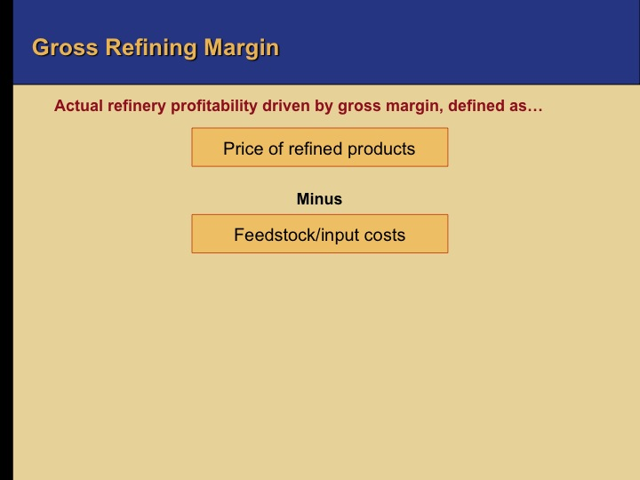 Oil 101 - Refining Business Drivers - Downstream Oil and Gas
