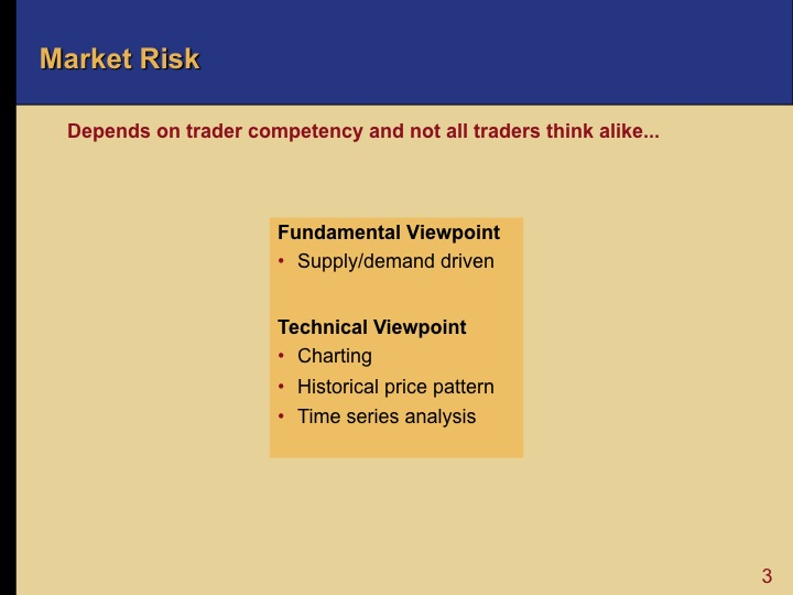 effect of risk management in oil Value at risk: uses and abuses make it a valuable decision support tool in a comprehensive risk management effects still must be considered.